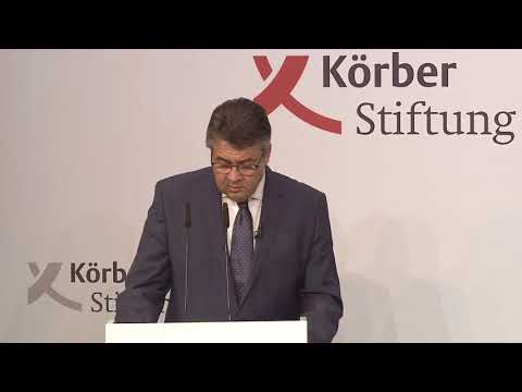 Keynote Speech at the Berlin Foreign Policy Forum 2017 by Sigmar Gabriel