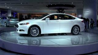 2013 Ford Fusion Revealed at the 2012 North American International Auto Show
