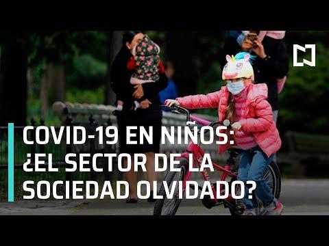 Niños contagiados de Covid-19 - En Punto