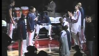 2002-2003 Detroit Pistons Starting Lineups