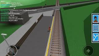 GCR Railfaning: Class 323 Arives At M. Firth Station. ROBLOX Railfaning