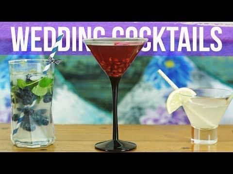 SUMMER Wedding Cocktail Recipes!
