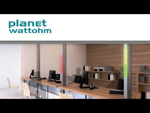 LED SYSTEM de Planet Wattohm : colonnes et goulottes LED pour des économies d'énergie