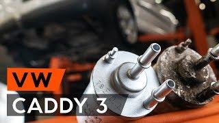 Ako vymeniť Palivový filter VW CADDY III Estate (2KB, 2KJ, 2CB, 2CJ) - online zadarmo video