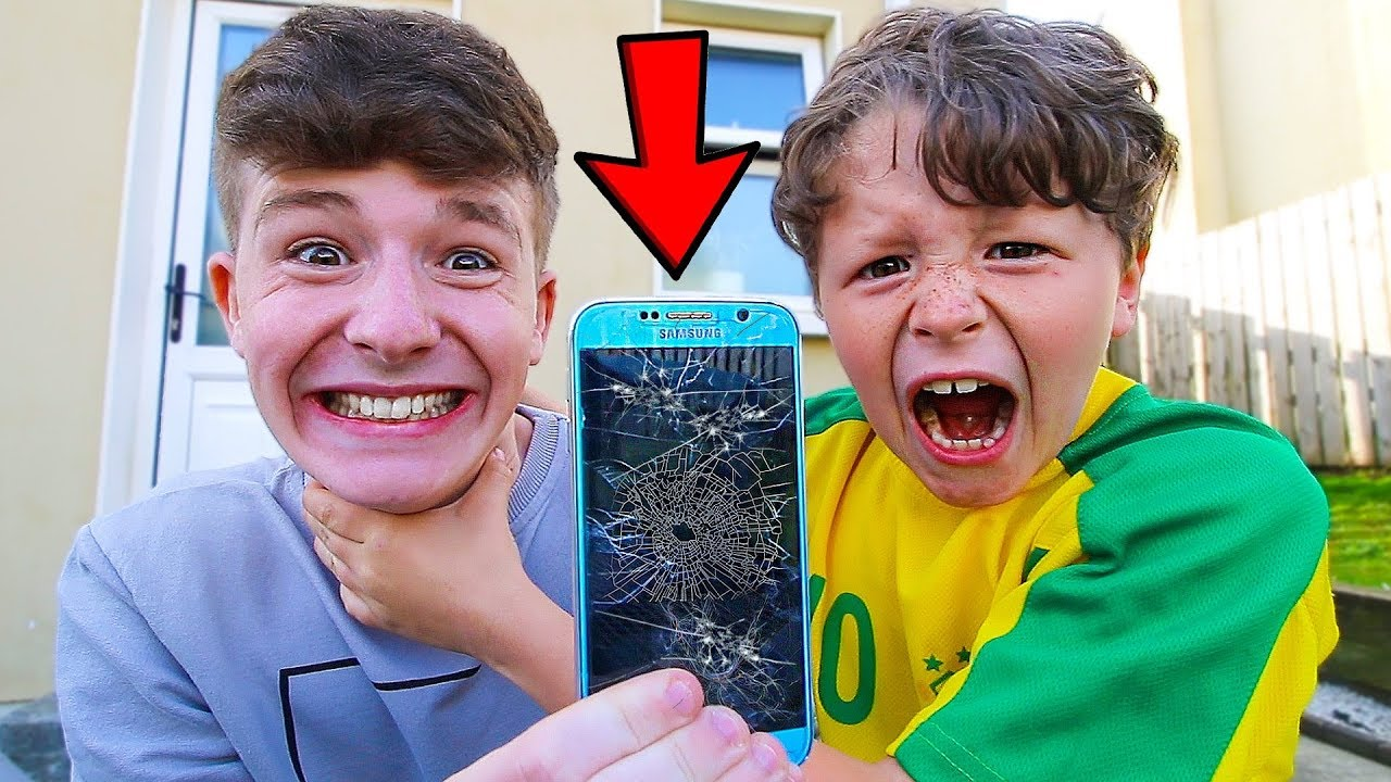 7 Ways To Prank Your Little Brother - Youtube-2255