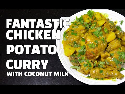 Chicken Potato Curry - Chicken Curry Youtube - How to make Coconut Chicken Curry