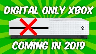 Disc-less Xbox One Leaks for 2019 | Project Scarlett to be Digital Only?