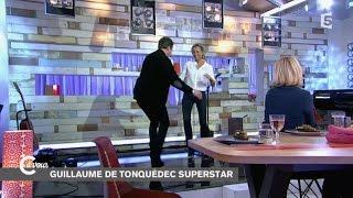 Le rock (en talons!) de Guillaume de Tonquédec et Anne-Sophie Lapix - C à vous - 23/01/2015