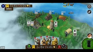 Raiders of the North Sea (by Dire Wolf Digital) - board game for android and iOS - gameplay.