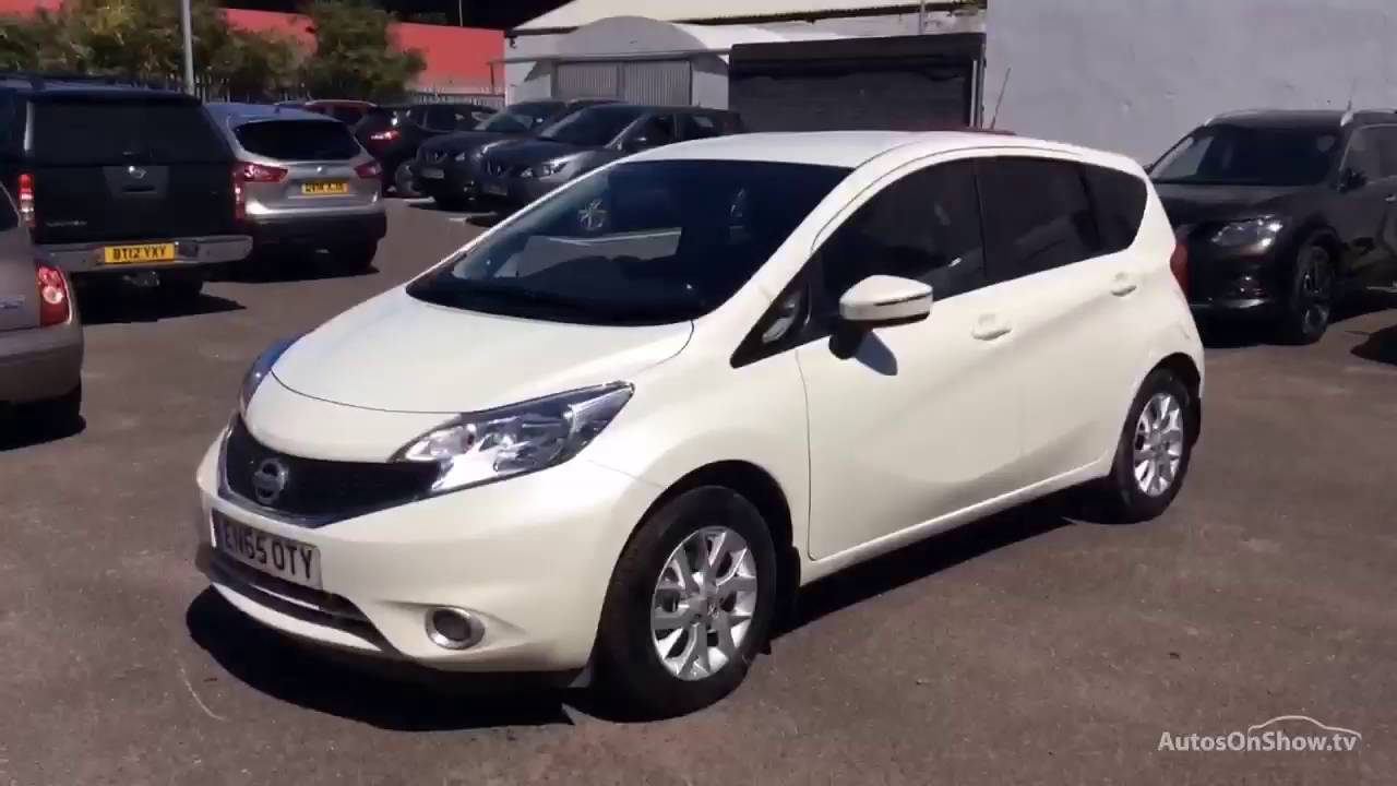 nissan note acenta premium white 2016 youtube. Black Bedroom Furniture Sets. Home Design Ideas
