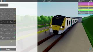 Roblox Stepford County Railway Ep 28 (Liyn By The Sea Line Exploring and train race)