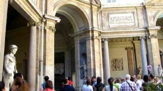 Музей античной скульптуры в Ватикане(Музей античной скульптуры в Ватикане., 2008-10-16T15:41:38.000Z)