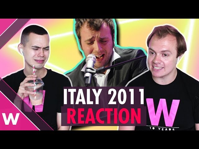 Raphael Gualazzi (Italy Eurovision 2011 ) second place |