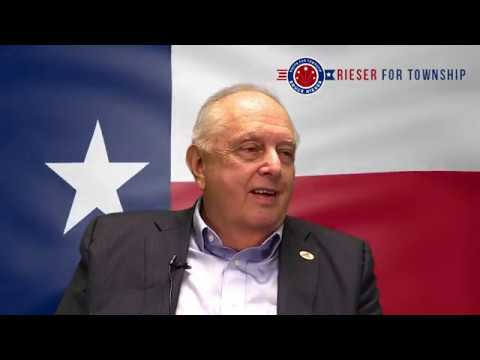 Bruce Rieser - The Woodlands Township Board of Directors Pos. 4 - 2018