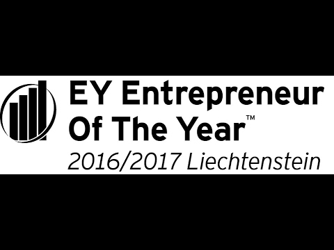Entrepreneur Of The Year in Liechtenstein 2016/2017
