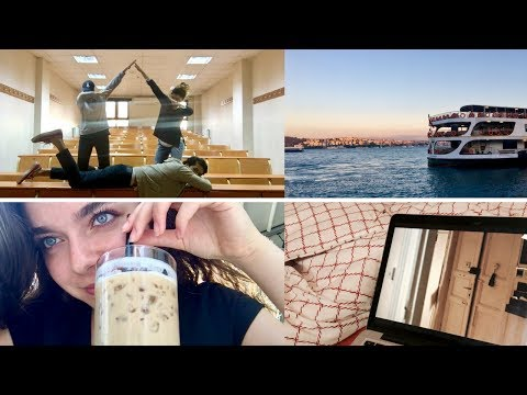 VLOG | Spor, Okul, Finaller + Neler Yedim?