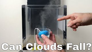 What Happens to a Humidifier in a Vacuum Chamber? Can Clouds Exist in a Vacuum?
