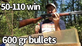 50-110 Lever Action Elephant Rifle VS Ballistic Gelatin
