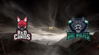 Red Canids ( RED ) vs Dire Wolves ( DW ) | MSI 2017 Ön Eleme 1. Gün