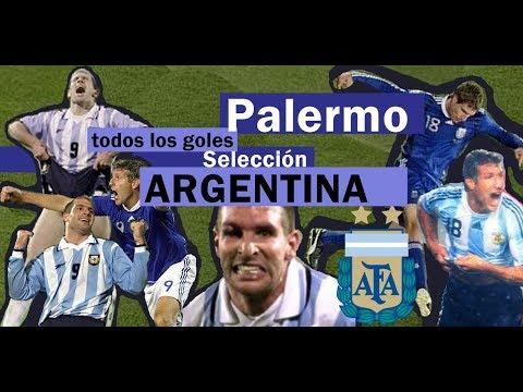 Todos Los Goles De Palermo En Selección Argentina