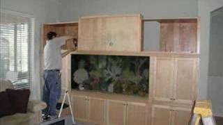 Custom Saltwater Aquarium