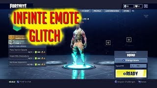 INFINITE EMOTE GLITCH IN LOBBY | FORTNITE BATTLE ROYALE