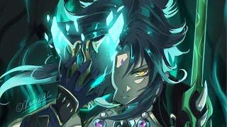 Genshin XIAO combo   xả skill liên tục - cỗ máy farm skill đích thực