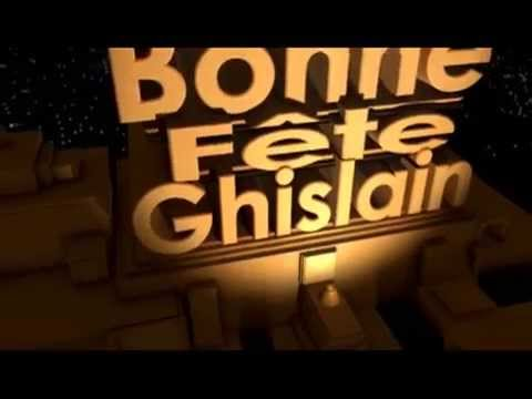 Download Bonne fête Ghislain