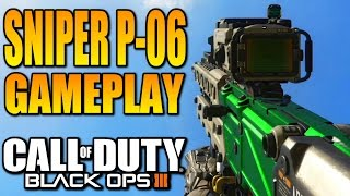 Call of duty: BLACK OPS 3 - SNIPER P-06 Gameplay (COD BO3 PS4)