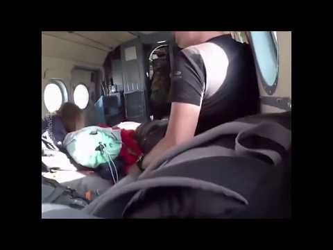 Катастрофа вертолёта изнутри