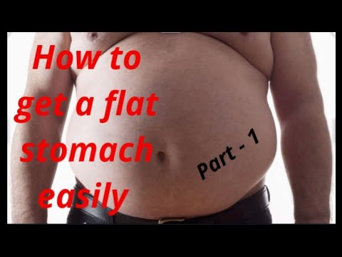How to get a flat stomach easily, part – 1(hindi)belly fat,body fat,fat loss,fat loss tips,