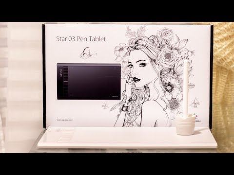 Графический планшет XP-PEN STAR 03 PEN TABLET [распаковка, тест]