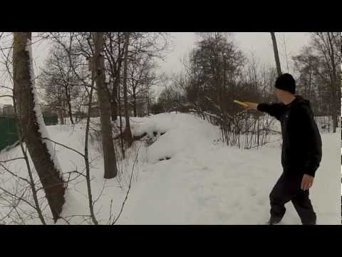 Winter Disc Golf Ace, Hole in One, Turku, Finland