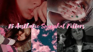 ♡Aesthetic snapchat filters you must try♡|| 90's aesthetic|| ☆Falak Sparklet☆ screenshot 2