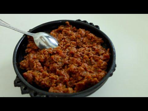 "Ethiopian Food ""How to Make Kitfo"" የክትፎ አሰራር"
