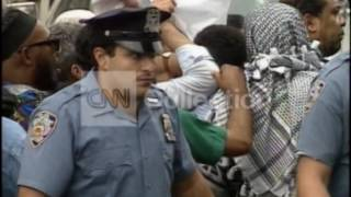 WTC ANNIV:SHEIK OMAR ABDEL RAHMAN SURRENDERS