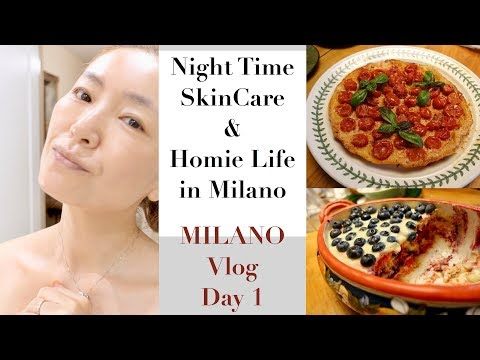 Going to MILANO - Night Time SkinCare & Homie Life- MILANO D