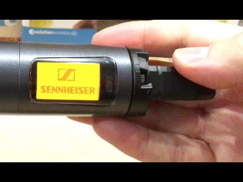 Micro không dây Sennheiser hát karaoke 3
