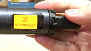 Sennheiser Evolution Wireless EW 100 G3 | UHF Microphone