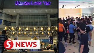 Cops: Fight at Low Yat Plaza not a racial issue, 42 people taken to police station