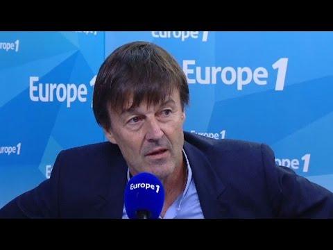 """Nicolas Hulot : """"C'est un contresens tragique et pathétique de l'histoire"""""""