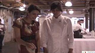 Frozen Chestnut Custard With Chef Monica Segovia-welsh At Chelsea Market