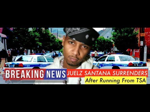 BREAKING NEWS: Juelz Santana SURRENDERS TO POLICE at 10 AM, After Running From TSA at Airport