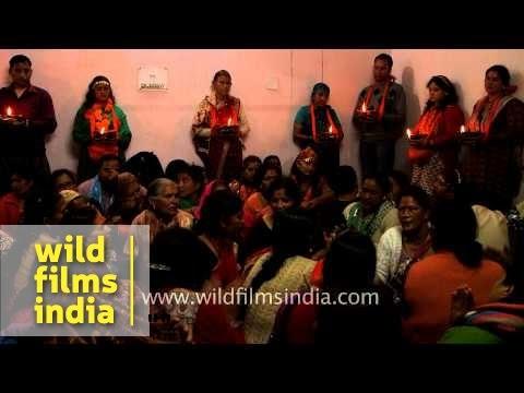 Kamleshwar temple - Childless couples perform fertility ritual