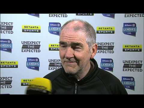 Mickey Harte on Tyrone's win over Dublin