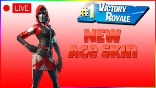NEW ACE SKIN FORTNITE ! | Fortnite Battle Royale !