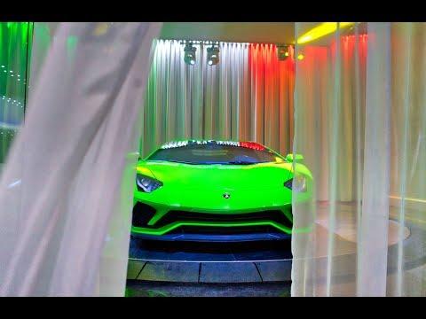 Lamborghini Aventador S Start Up - Amazing Sound Interior Exterior at Lamborghini Miami