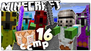Minecraft 1.9 | MINI BOSS CHALLENGE! | Custom Command Mod Pack #16