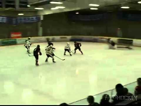 PJHL Highlight - Crazy save and then a crazy goal