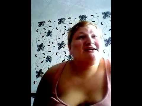 Толстая пьяная баба